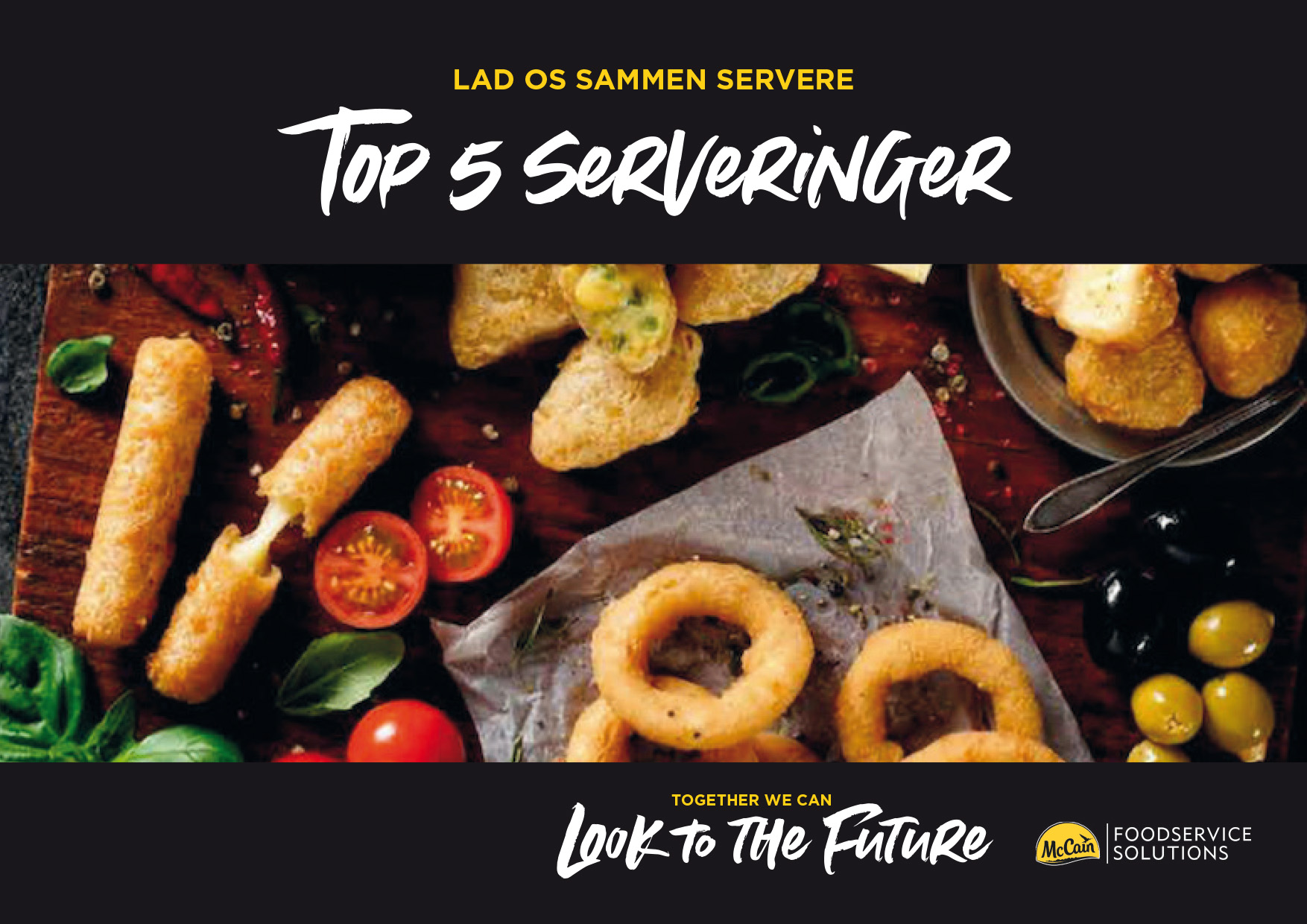 Top 5 dishes